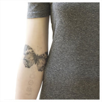 NATURE GIRL The Natural Balance - Butterflies & Geometrics Temporary Tattoo Set