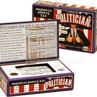 POLITICIAN MAGNETIC POETRY KIT