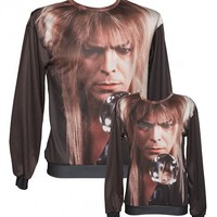 EXCLUSIVE Unisex Crystal Ball Bowie Labyrinth Sweater From Mr Gugu & Miss Go : TruffleShuffle.com