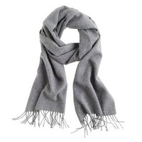 Cashmere scarf - Hats, Gloves and Scarves - Men's accessories - J.Crew