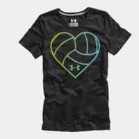 Women's UA Heart Volleyball Graphic T-Shirt