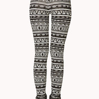 Voyager Tribal Print Leggings
