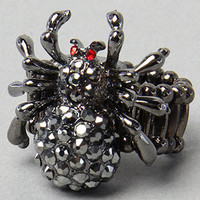 Karmaloop.com - Global Concrete Culture - The Spider Ring in Hematite by *The Extras
