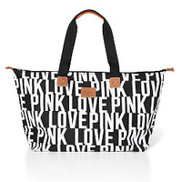Nylon Travel Tote - PINK - Victoria's Secret