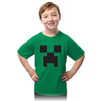 Minecraft Creeper Kids' Tee - Green,