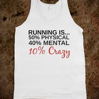RUNNING IS CRAZY TANK