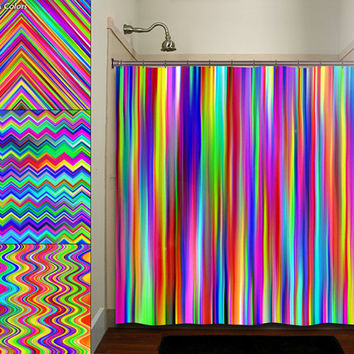 Colorful Rainbow Multicolor Chevron From Tablishedworks On