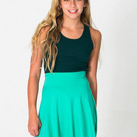 American Apparel - Youth Cotton Spandex Jersey Wide Waistband Skirt
