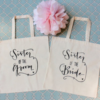 Sister of the Bride & Sister of the Groom- Set of 2