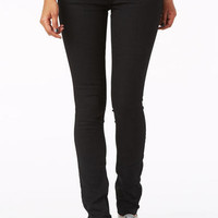 Jayden Low-Rise Skinny Jean in Black