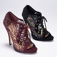 Lace Peep-toe Bootie - VS Collection - Victoria's Secret