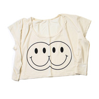 Twins Crop Tee | Burger And Friends