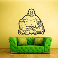 Wall Decal Vinyl Sticker Decals Buddha India Indian Hindu Om Ganesh God Yoga (z2136)