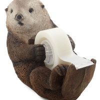 ModCloth Dorm Decor Alma Otter Tape Dispenser