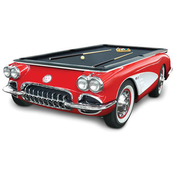 The 1959 Corvette Billiards Table - Hammacher Schlemmer