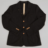 fingers crossed - nomad jacket black mini herringbone