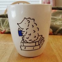 Coffee Mug: Hedgehog with a bestseller