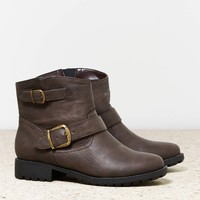 AEO Women's Buckle Bootie (B
