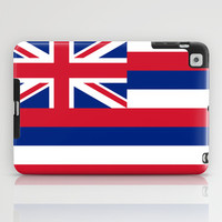 The State flag of Hawaii - Authentic version iPad Case by LonestarDesigns2020 - Flags Designs +