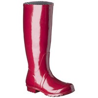 Women's Classic Tall Rain Boot - Red