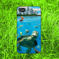 Disney Crush & Friends in Finding Nemo iPhone 4, iPhone 5, Samsung S3, Samsung S4 case ,New Case for iPhone