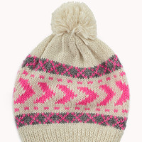 Arrow Striped Beanie