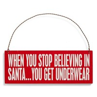 Primitives by Kathy 'When You Stop Believing'  Ornament | Nordstrom