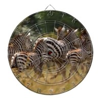 African Zebra cool stuff Dartboard