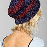 University Stripe Beanie - Urban Outfitters