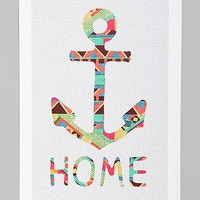 Bianca Green You Make Me Home Art Print - Urban Outfitters