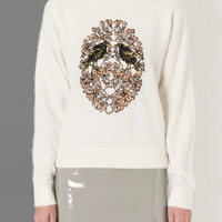 Bird Crest Angora Jumper by Boutique - Boutique - Clothing - Topshop USA