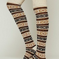 Hunting Fairisle Tall Sock