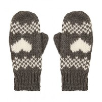 Womens Jaquard Mitten - Accessories - Shop Department - Womens  | Peacocks
