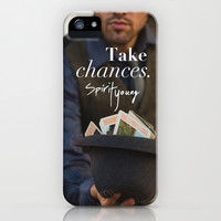 Take Chances iPhone & iPod Case by Spirit Young