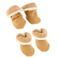 Top Paw® Light Sherpa Booties - Sale - Dog - PetSmart