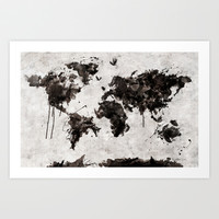 Wild World Art Print by Maximilian San