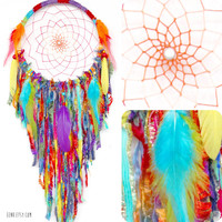 Gypsy Soul Large Native Style Woven Dreamcatcher