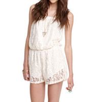 Kirra Lace Romper at PacSun.com