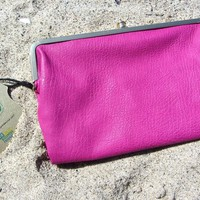 Hot Pink Certified Vegan Wallet Clutch by Urban Expressions