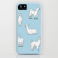 Alpaca iPhone & iPod Case by okayleigh