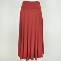 Padma Panel Jersey Maxi Skirt