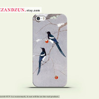 Couple Love Bird, Iphone 4, Iphone 4s, Iphone 5, case, bird iphone case , Samsung Galaxy , iphone 5s case ,unique iphone case , bird on tree