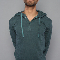 The Hood Thermal X Hoody in Hydro by RVCA
