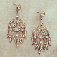 Pree Brulee - Antiqued Samantha Earrings