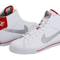 Nike Sweet Classic High White/Metallic Silver-Sport Red