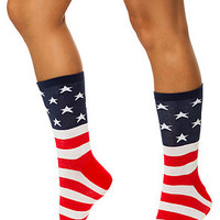 The 1776 Flag Socks