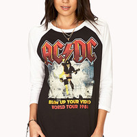 AC/DC World Tour Baseball Tee