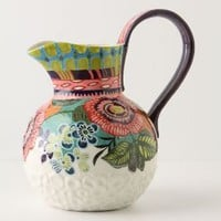 Amazon Dreams Pitcher - Anthropologie.com