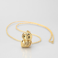 Andrea Garland Owl Lip Balm Necklace - Urban Outfitters