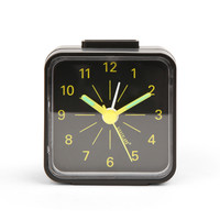 Mini Travel Alarm Clock + Yellow